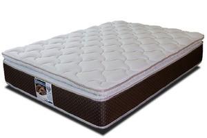 Colchon Queen Size Spring Air Marte Pillow Top Envio Gratis