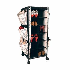 Organizador De Zapatos Para 18 Pares De Zapatos Con Ruedas