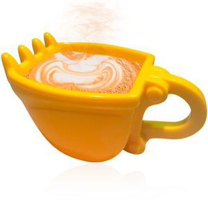Taza Excavadora Para Cafe Digger Mug Construccion H