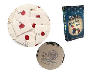Carta Hogwarts Harry Potter Grageas Jelly Belly Originales
