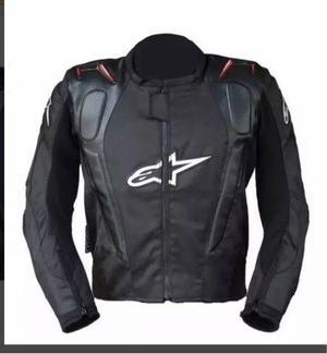Chamarra Motociclista Textil Con Protecciones Alpinestars