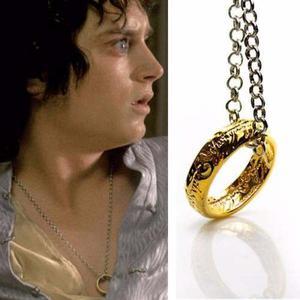 Collar, Dije Señor De Los Anillos, El Hobbit- Nuevo