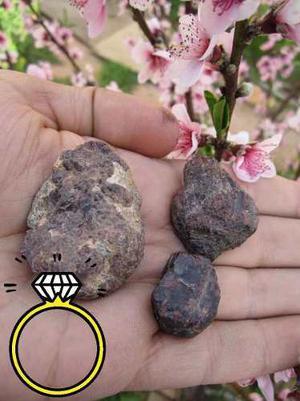 Granate Rugoso En Bruto 75.7 Gr Envio Gratis Rubi Esmeralda