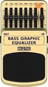 Pedal Behringer Bass Bajo Graphic Equalizer Beq700