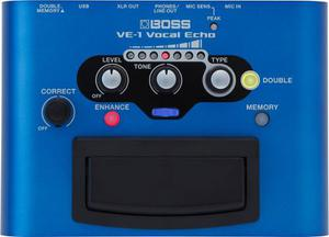 Procesador De Efectos Para Voz Boss Ve-1 Vocal Echo
