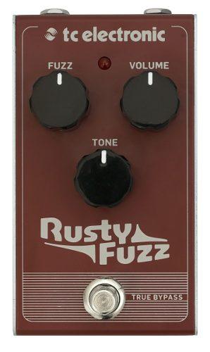 Tc Electronic Rusty Fuzz Pedal True Bypass Envio Gratis