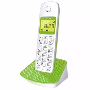 Telefono Inalambrico Alcatel Verde Y Rojo Id