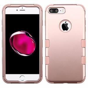 Funda Case Iphone 7 Plus / Iphone 8 Plus Uso Rudo Rosegoldrs