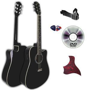 Guitarra Electroacústica Vz Pastilla 4 Bandas