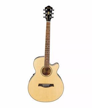 Guitarra Electroacustica Ibanez Natural Aeg8e-nt