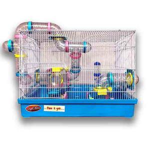 Jaula Hamster Super Equipada Raton Roedor Grande Boston