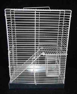 Jaula Para Hamster 2 Pisos, Accesorios Extras