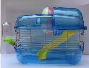 Jaula Para Hamster 2 Pisos, Accesorios Extras Envio Gratis
