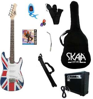Paquete De Guitarra Eléctrica Inglesa Skala