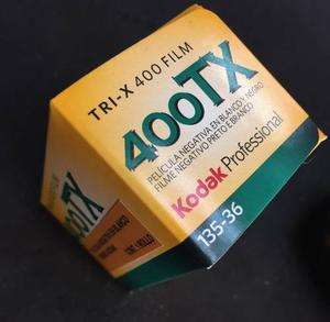 Rollo 35mm Kodak Tri X Pan Byn 400 Iso/asa Vigencia