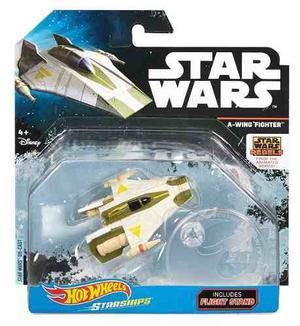 A Wing Fighter Hot Wheels Star Wars Nueva Sellada