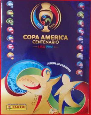 Album Completo Copa America Centenario Usa  Panini
