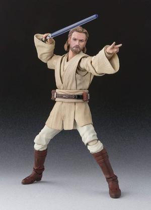 Bandai S.h. Figuarts Obi-wan Kenobi Star Wars Attack Of The