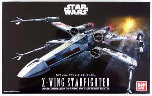 Bandai Star Wars X-wing Starfighter T-65 Escala 1/72-b