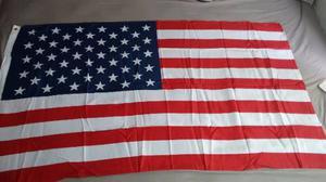 Bandera De Usa Medida Oficial 90cm X 1.50cm Envio Gratis