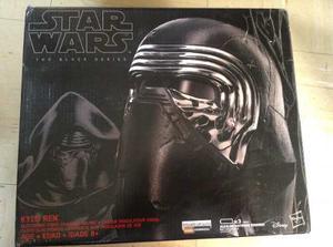Casco Star Wars Kylo Ren Electronico Black Series