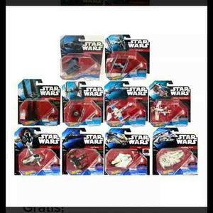 Colección Naves Star Wars Hotweels Envío Fedexexpres