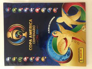 Copa América Centenario Álbum De Estampas Panini Y 50