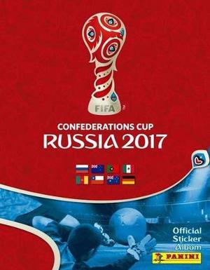 Estampas Sueltas Copa Confederaciones Rusia  Panini