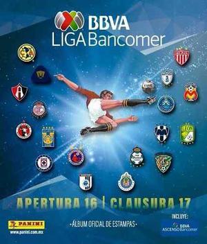 Estampas Sueltas Liga Mx Apertura 16 Clausura 17 Panini