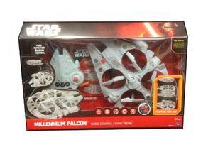 Halcon Milenario Dron Cuadricoptero Star Wars Radio Control