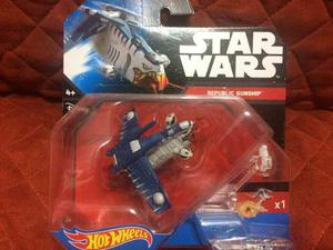 Hot Wheels Nave Star Wars Republic Gunship No Subasta