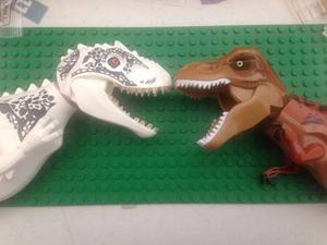 Jurassic World Indominus Rex Y T Rex Compatible Lego