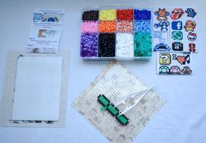 Paquete Básico 2 Con pz Y Accesorios Perler Hama Beads