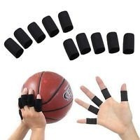 Protector De Dedos Para Basketball Color Negro O Combinado