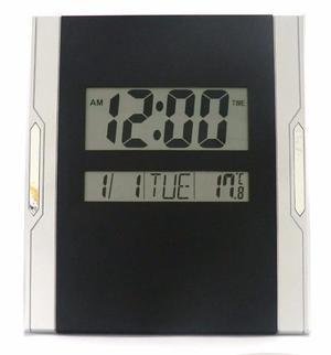 Reloj D Pared Digital Alarma Fecha Día Hora Reloj Mesa
