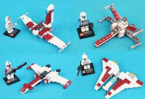 Set De Star Wars Troppers Y Naves Compatible Bloques