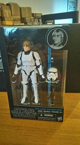 Star Wars Black Series 6 Luke Skywalker Stormtrooper
