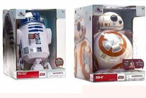 Star Wars Talking Figuras R2-d2 & Bb-8 Robot Disney Store