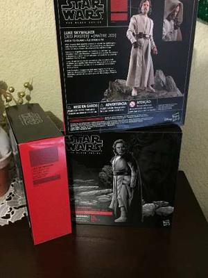 Star Wars The Black Series Deluxe Luke Skywalker Isla
