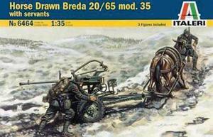 Tanque Italeri Arma Remolque Con Caballo 1/35 Armar Pintar