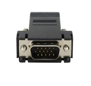 Extensor De Vga A Rj45 Por Cable De Red Ethernet 1 Pieza