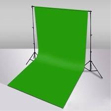 Fondo Pantalla Verde Chroma Key Efectos Especiales 1.7x3.5m