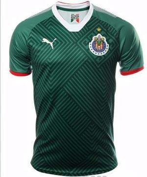 Jersey Original Puma Chivas Guadalajara 3era Gala Verd