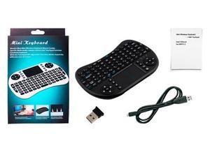 Mini Teclado Inalambrico, Iluminado Mouse Pad,tv Box, Smart