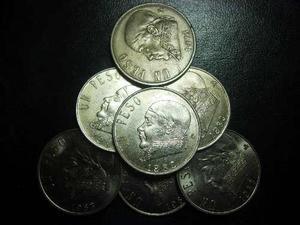 44a99a73b62a Moneda 1 peso morelos niquel buena condición