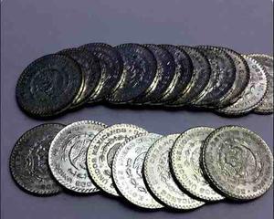 Moneda Un Peso Morelos Con Brillo Plata Ley