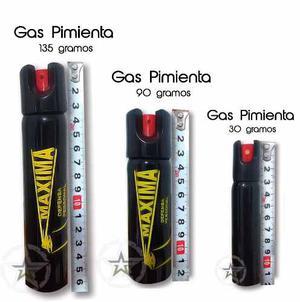 Potente Gas Pimienta 90 Gramos Defensa Personal Evita Robos