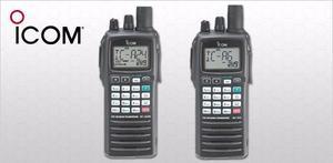 Radio Aero Portatil Icom Ic-a24 Pregunte Por Promocion