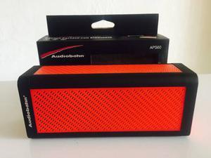 Bocina Portátil Recargable Audiobahn Bluetooth Auxiliar Usb