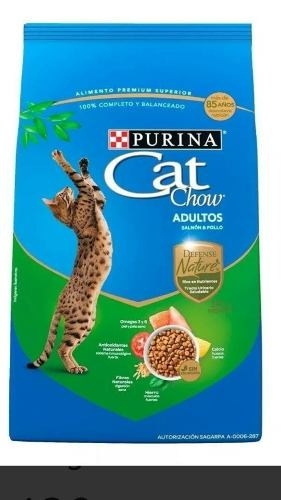 Cat Chow 7.5 Kg Salmón Alimento Para Gatos
